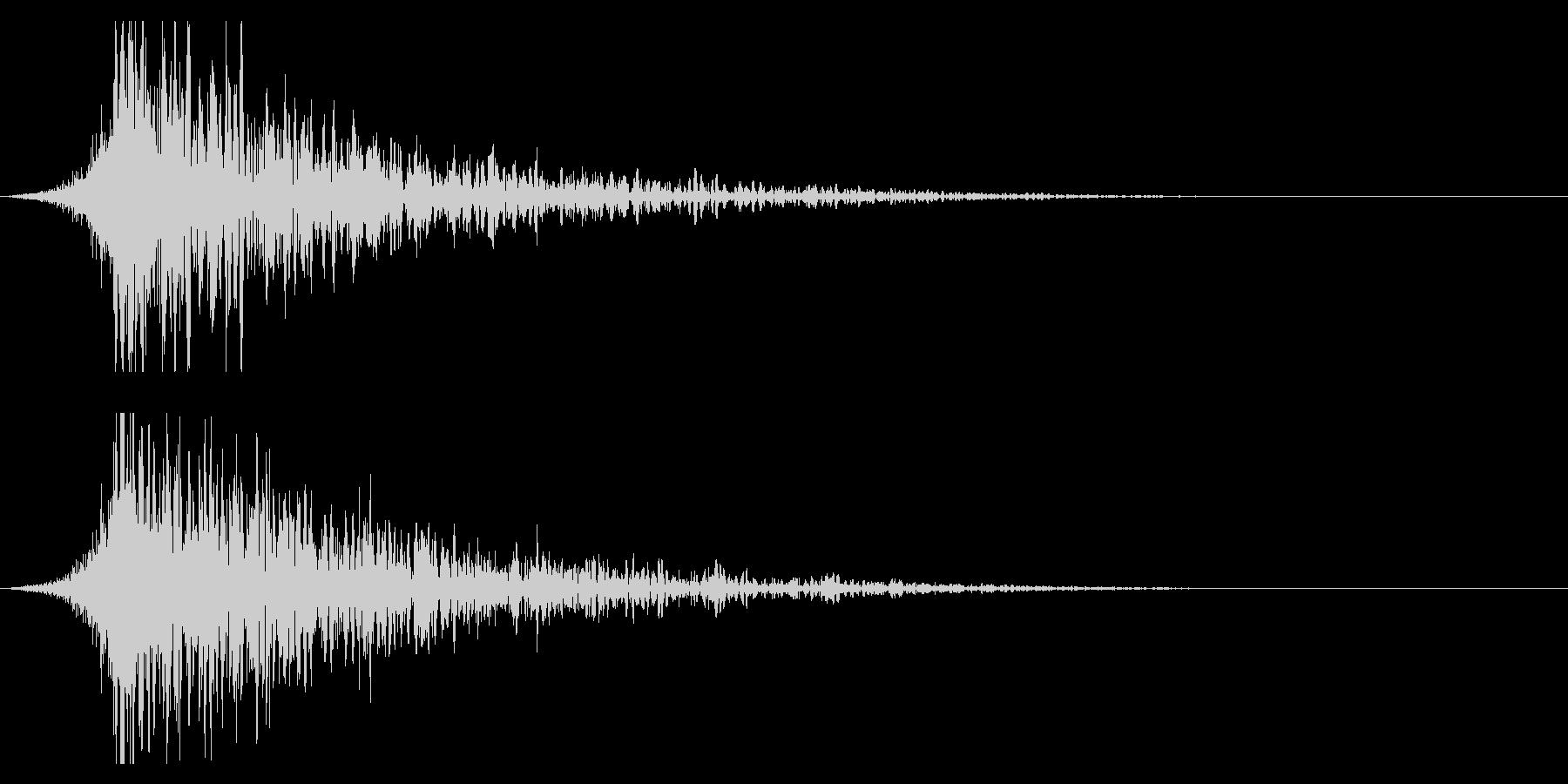 シュードーン-22-1(インパクト音)の未再生の波形