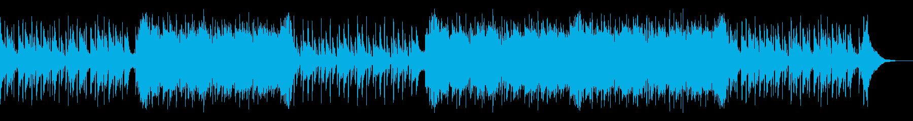 クールでかっこいいCM、製品紹介用BGMの再生済みの波形
