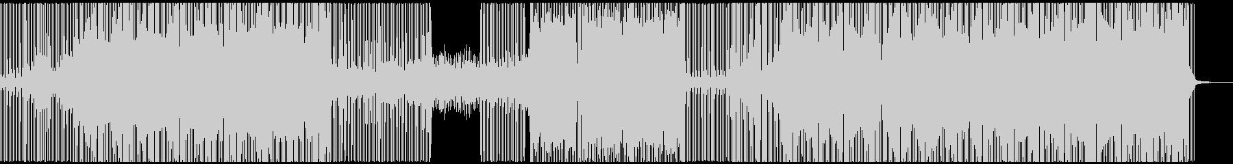 爽やかな雰囲気のテクノ・トランスBGMの未再生の波形