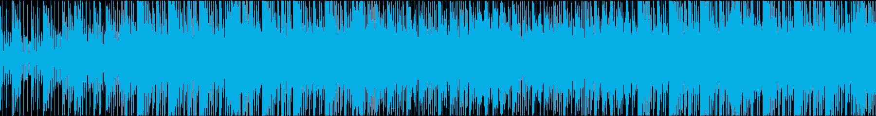 和風 オリエンタル R&B 琴 ループの再生済みの波形
