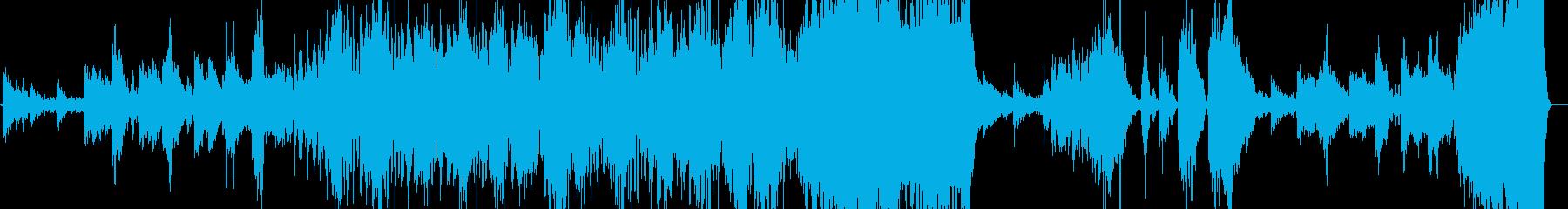 自分の指針「羅針盤」を胸に進む音楽の再生済みの波形