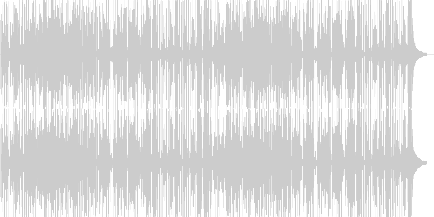 気持ちが弾む軽快なアコースティックポップの未再生の波形