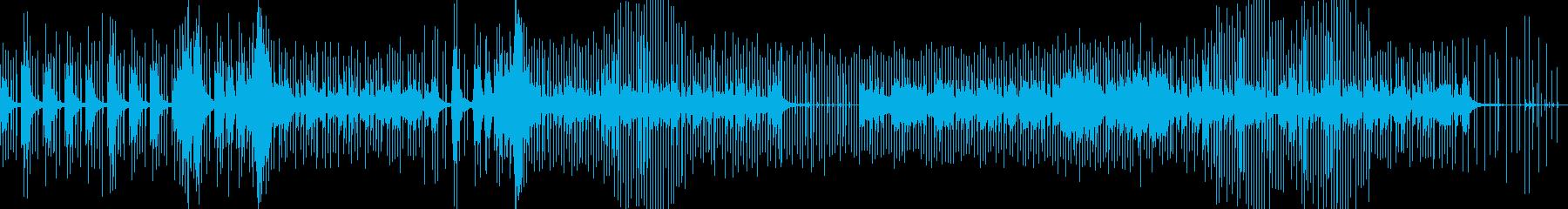 トリップホップ、エレクトロニカの再生済みの波形