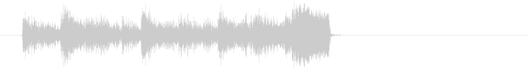 1960年代ゴーゴーサウンド・ジングルの未再生の波形