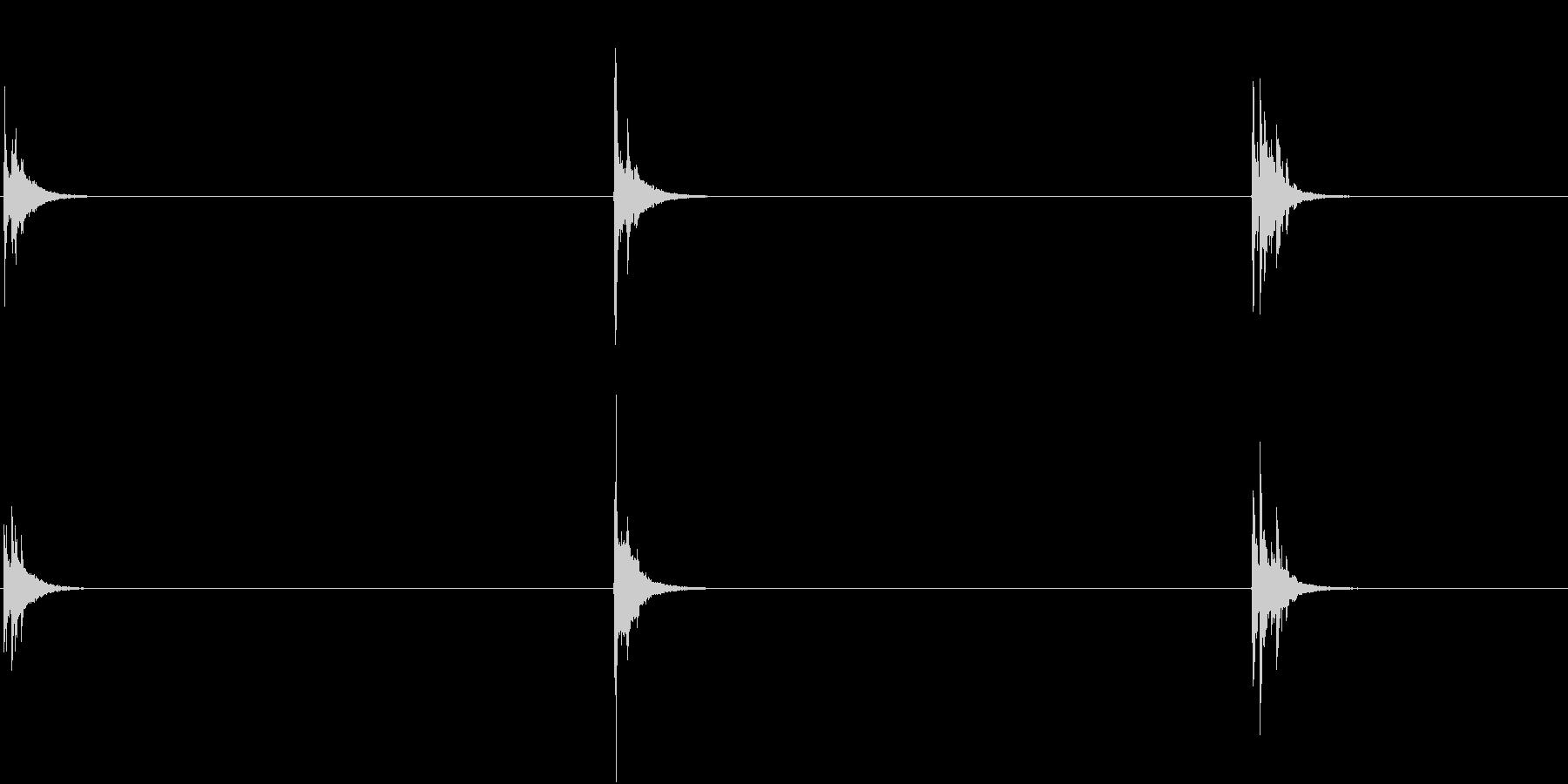 【生録音】お箸の音 45 米粒を集めるの未再生の波形