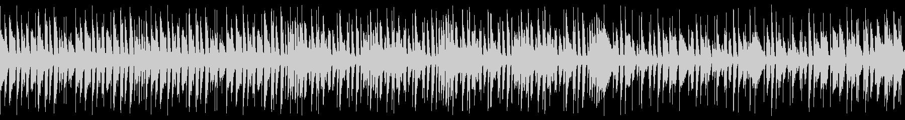 エネルギッシュでハッピーなジャズ(ループの未再生の波形