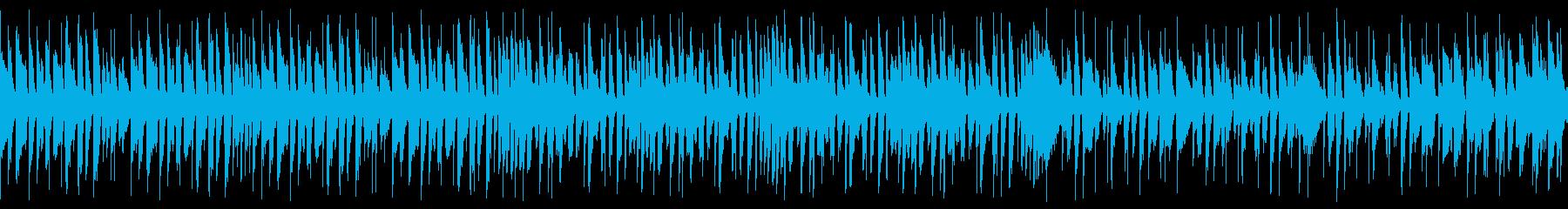 エネルギッシュでハッピーなジャズ(ループの再生済みの波形