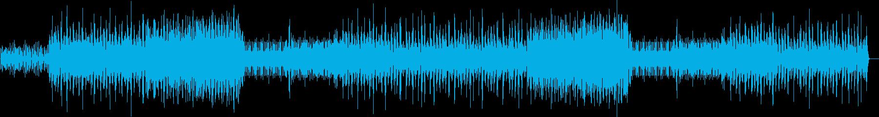 カワイイジャージークラブ、ボサノヴァの再生済みの波形