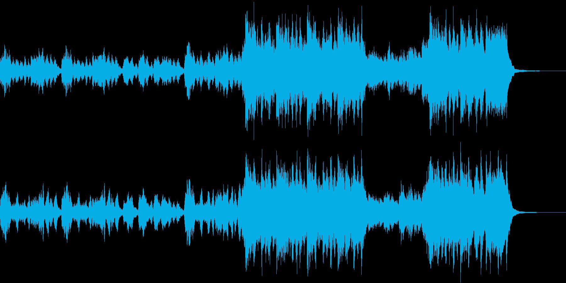 クリスマス定番曲「ひいらぎかざろう」の再生済みの波形