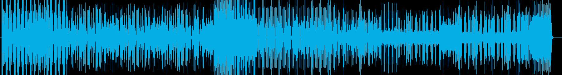 効果音の入った音源でエレクトロな曲です。の再生済みの波形