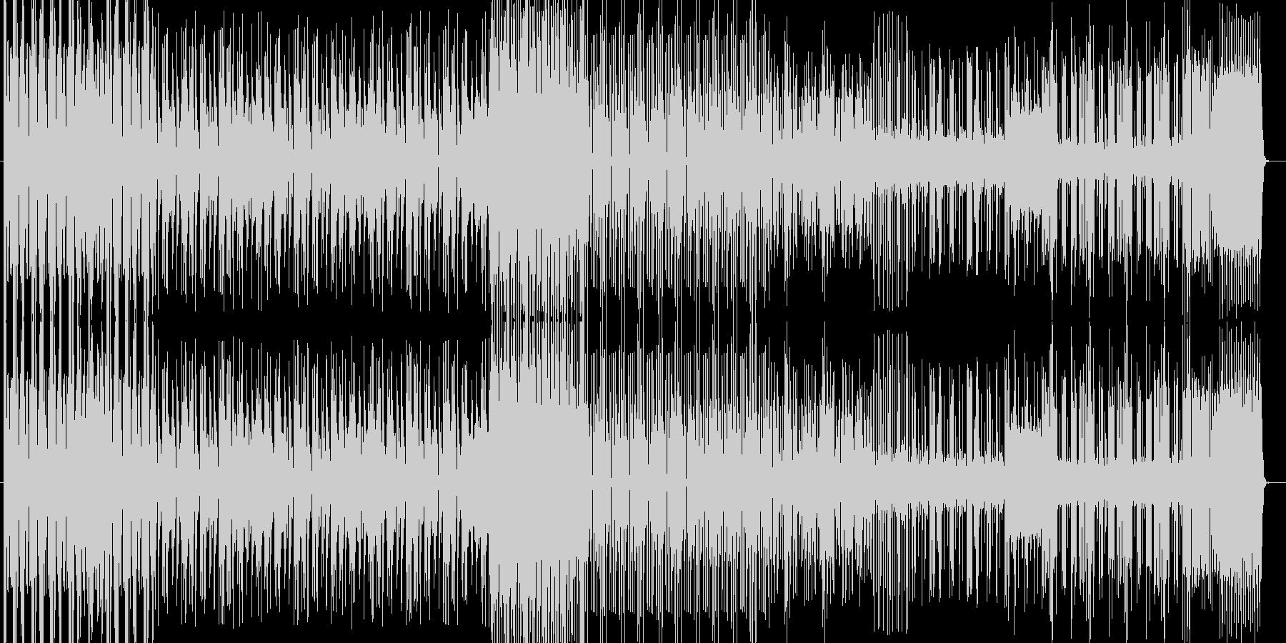 効果音の入った音源でエレクトロな曲です。の未再生の波形