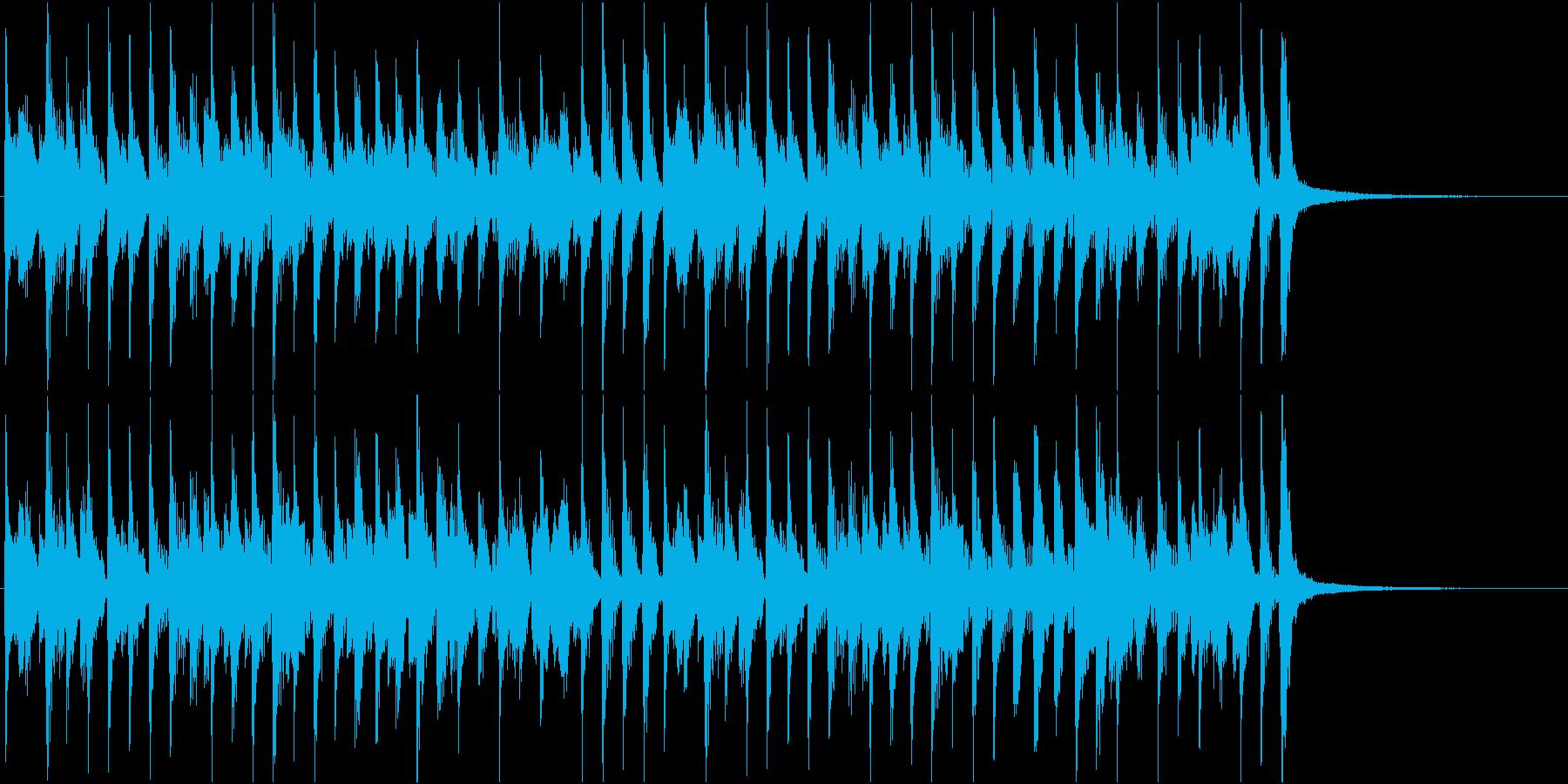 らくらくラグタイムの再生済みの波形