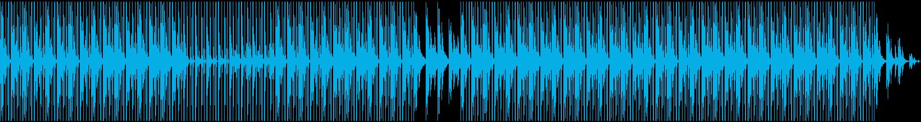 落ち着くChill系HIP-HOPの再生済みの波形