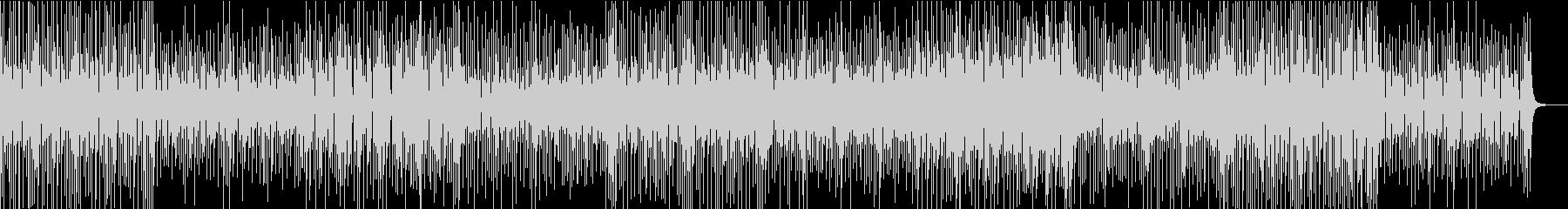 5拍子のアジア系シンセミュージックの未再生の波形