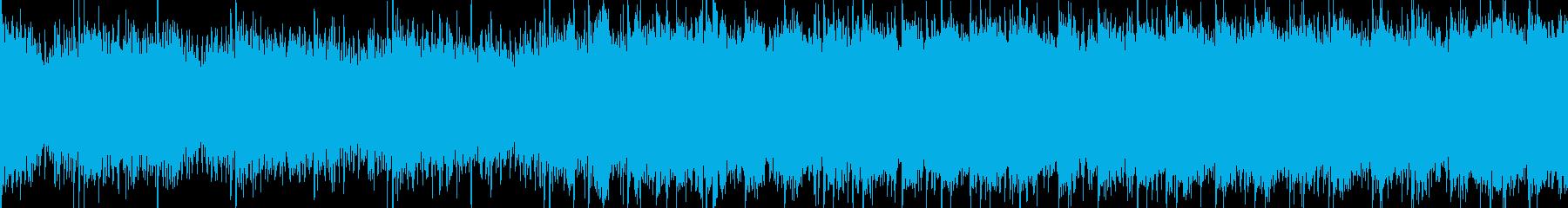 明るく前向きなオーケストラエピックループの再生済みの波形
