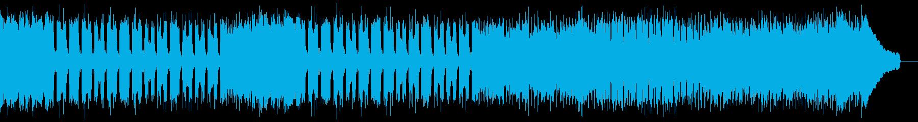 カントリー風ロックギター01Iの再生済みの波形