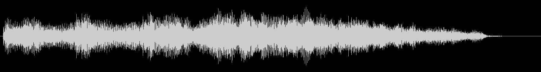 ローズピアノのキラキラしたジングル_5秒の未再生の波形