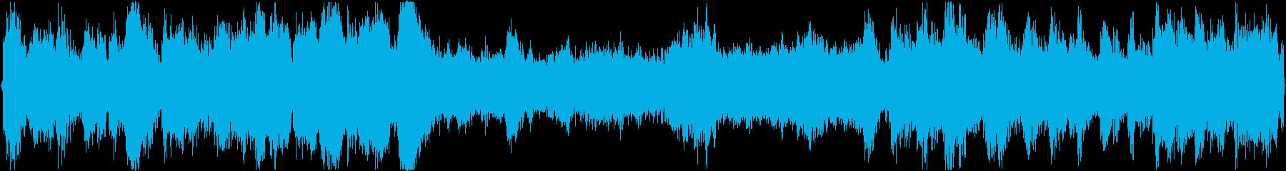 希望を感じるオーケストラ曲(ループなし)の再生済みの波形