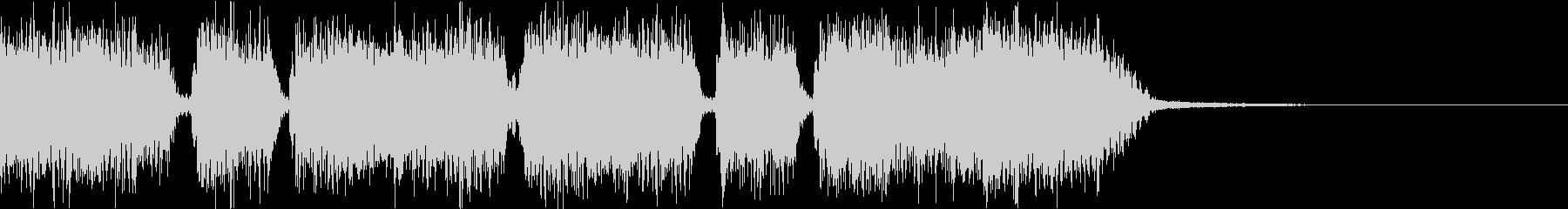 エネルギッシュ・ロックなサウンドロゴ01の未再生の波形