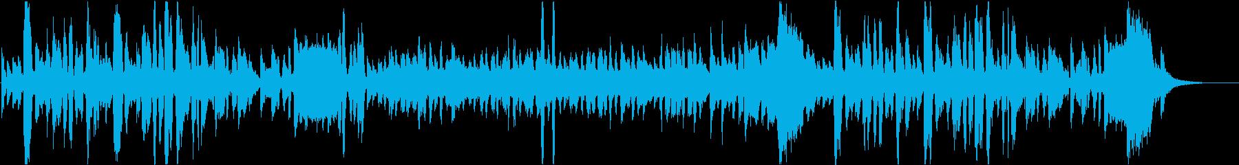 敬老の日をテーマにした楽曲の再生済みの波形