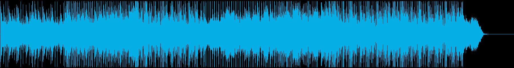 ピアノと弦楽器の旋律が爽やかなインストの再生済みの波形