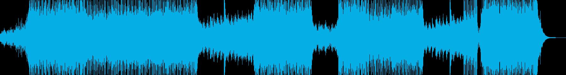 鮮やかな近未来イメージ SFポップ Aの再生済みの波形