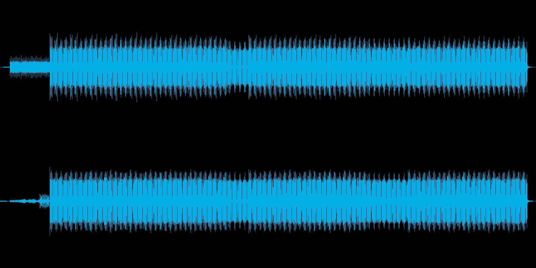 サイバー感あふれるテクノ-エレクトロニカの再生済みの波形