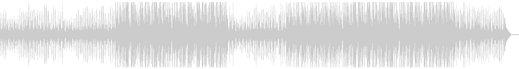 【リズム・ベース抜き】軽快なアンサンブルの未再生の波形