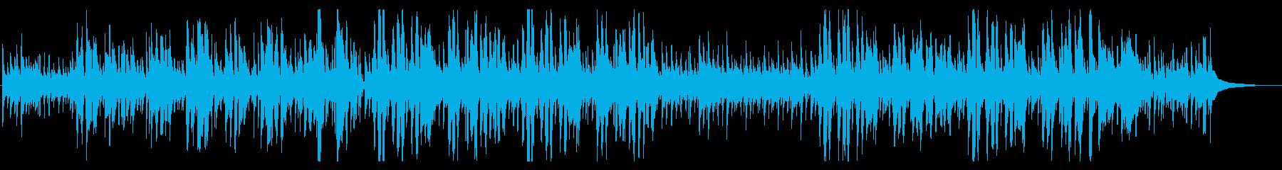 リラックスできるゆったりしたジングルベルの再生済みの波形