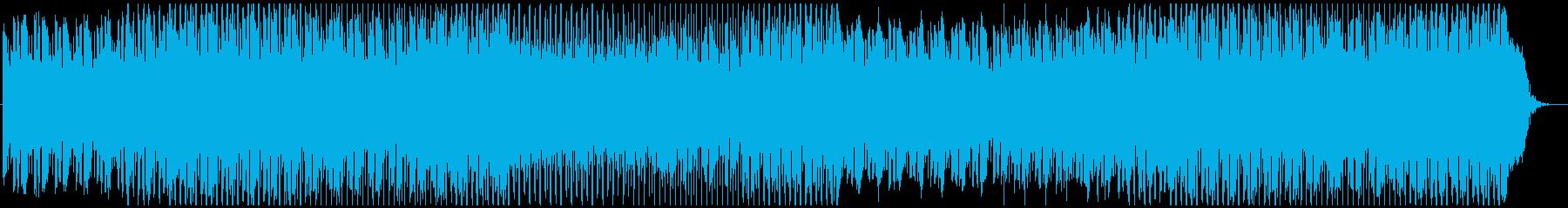 ポップ テクノ 移動 電気ピアノ ...の再生済みの波形