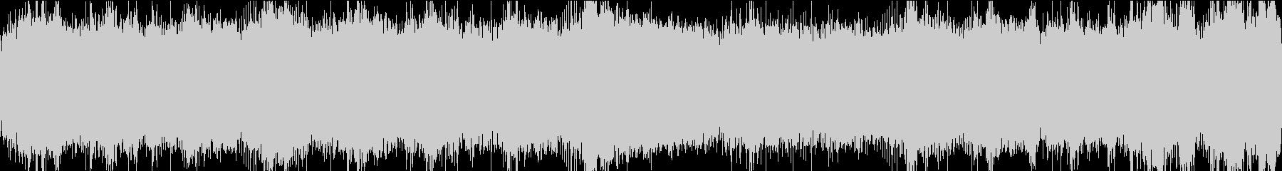 追われる 緊迫感 ループの未再生の波形