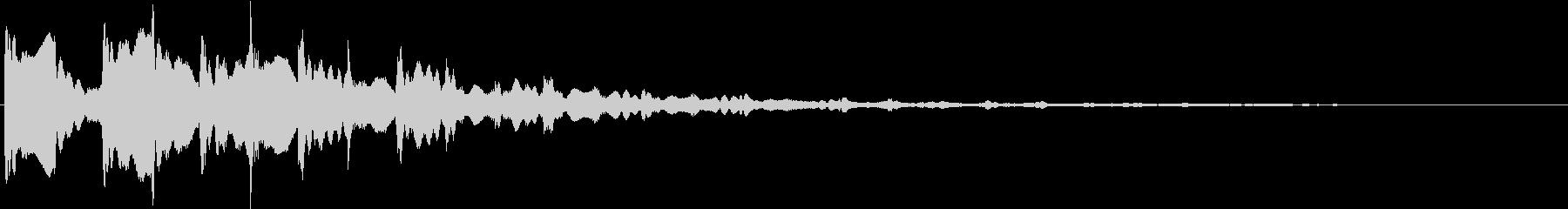 パン:ドキュメンタル風ピアノ・シンセ音2の未再生の波形
