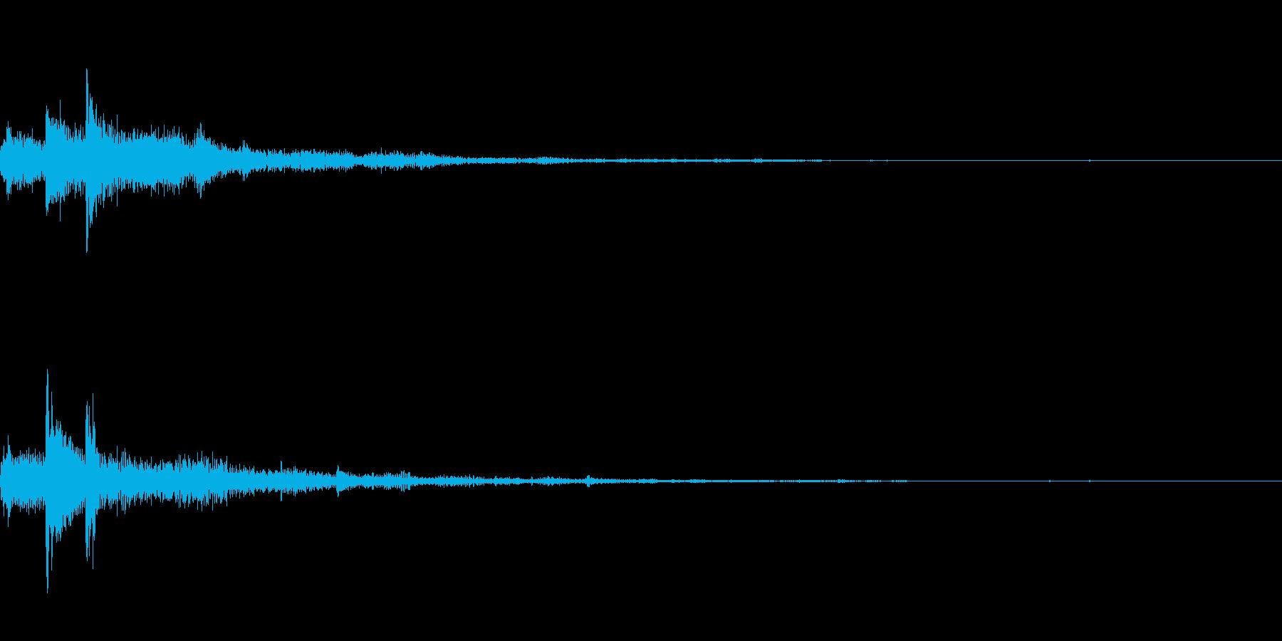 ぽろん♪(連鎖03)の再生済みの波形