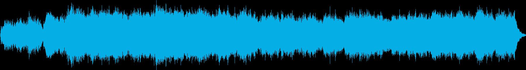 オリジナル聖歌隊用讃美歌風楽曲の再生済みの波形