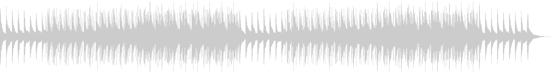 チルアウト、ローファイ、ピアノ、ラウンジの未再生の波形