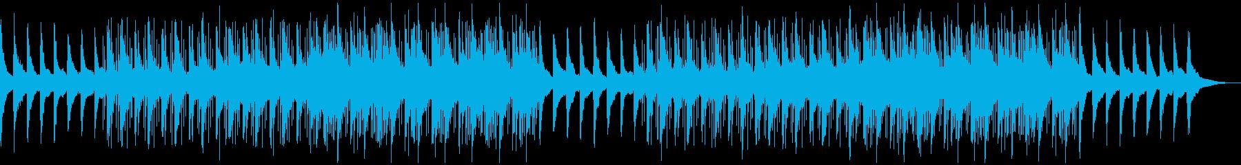 チルアウト、ローファイ、ピアノ、ラウンジの再生済みの波形