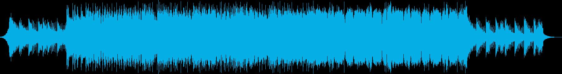 ポップでカワイイフューチャーべースの再生済みの波形