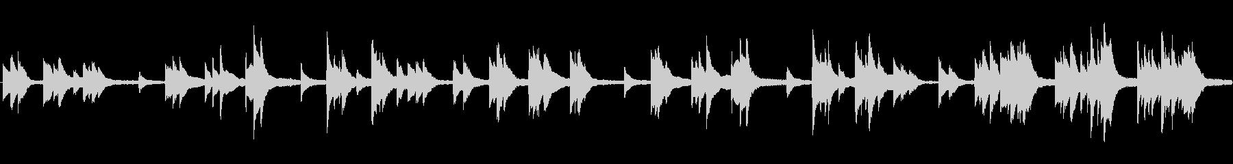 懐古的 叙情的 フォーク ■ ピアノソロの未再生の波形