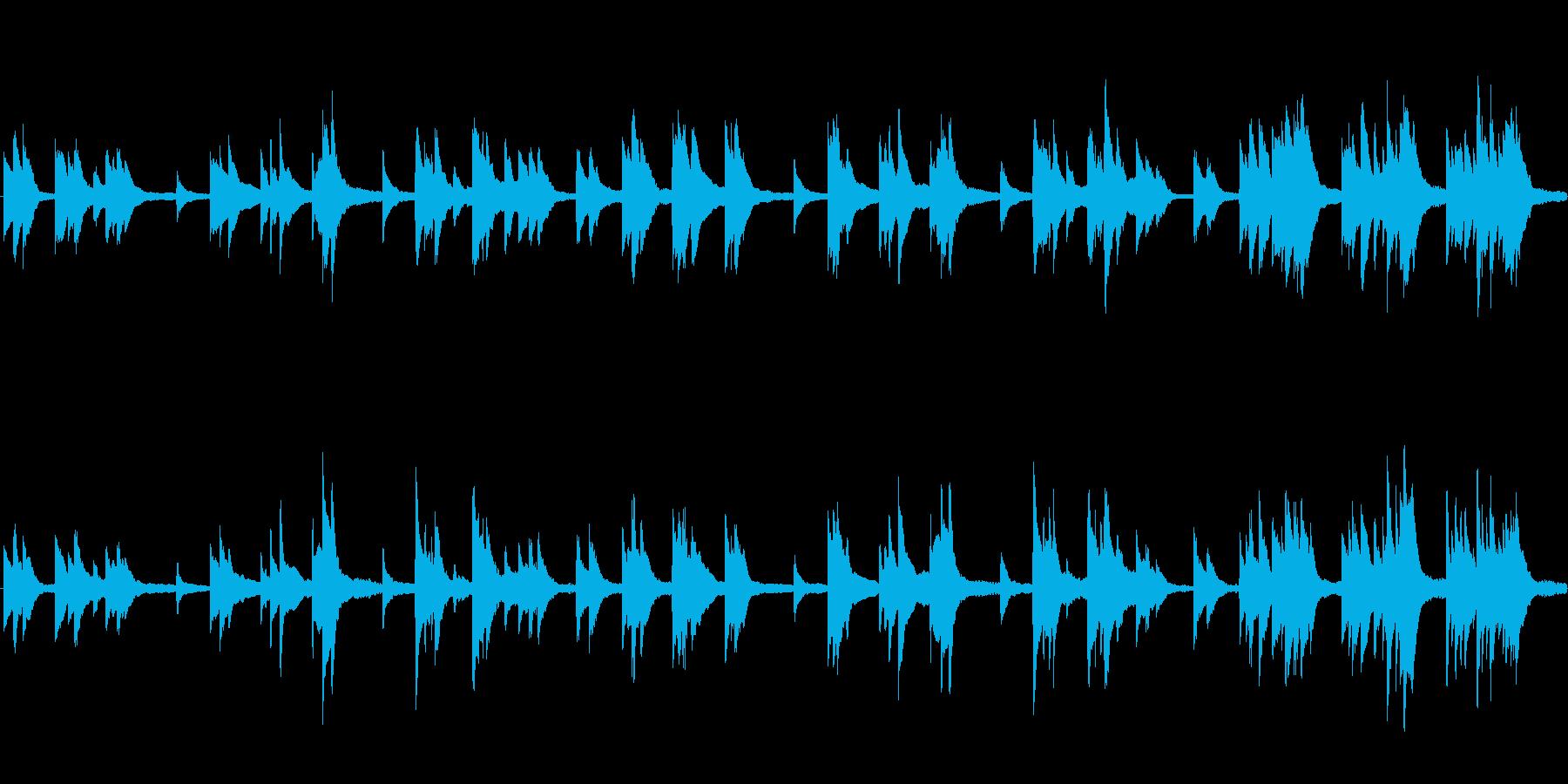 懐古的 叙情的 フォーク ■ ピアノソロの再生済みの波形