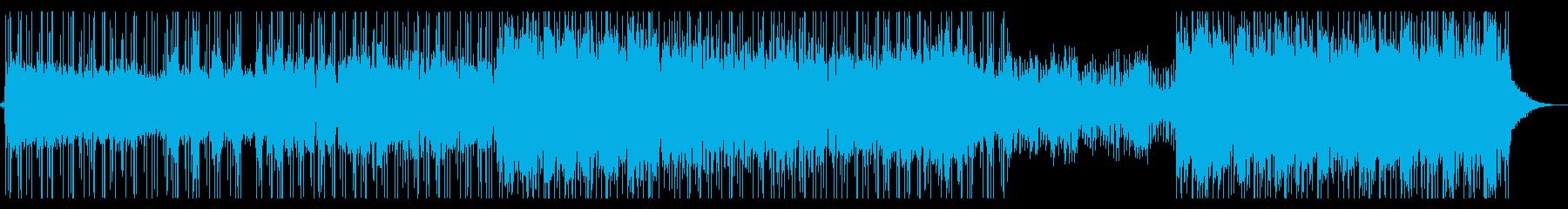 落ち着いてるけど、リズムな曲です。の再生済みの波形