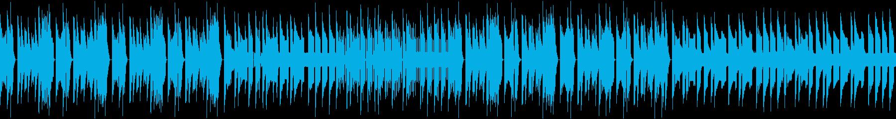 ★ファミコン風汎用BGMの再生済みの波形