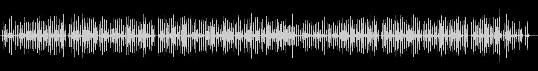 aほのぼのした軽快で可愛らし曲 pfの未再生の波形