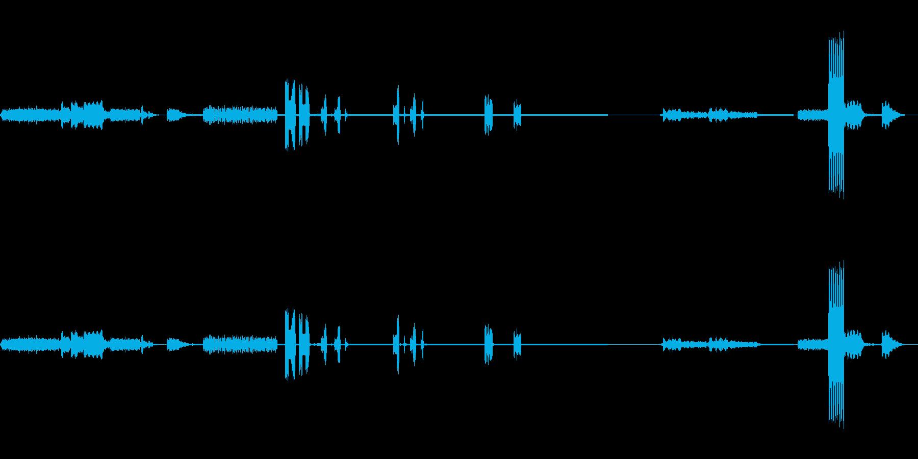 ラボコンピュータのビープ音。プリン...の再生済みの波形