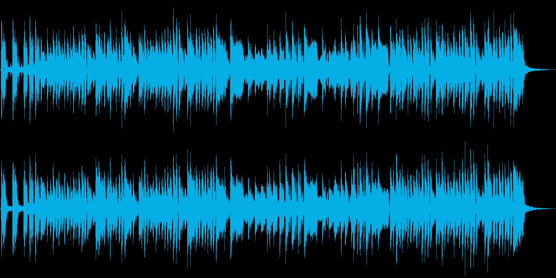 メロンをテーマにした楽曲の再生済みの波形