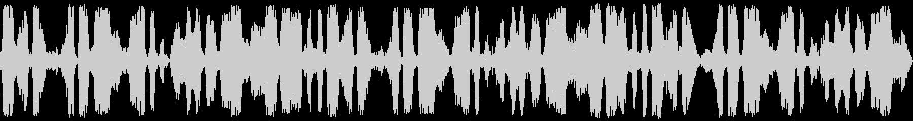 ループ再生可能!3分間の鈴虫・環境音の未再生の波形