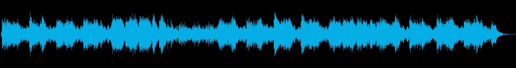 透明感と涼しげなシンセサイザーサウンドの再生済みの波形