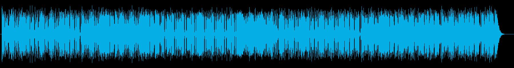 ピアノがおしゃれなシンセミュージックの再生済みの波形