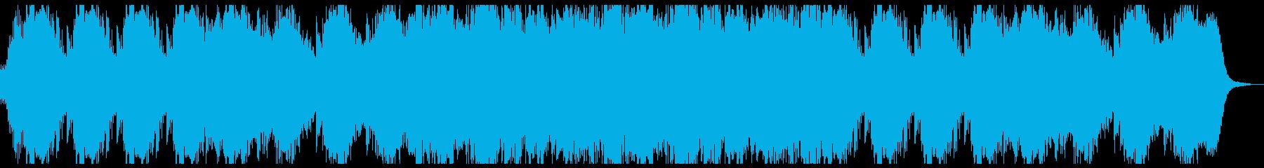 近未来的な出会いを感じるBGMの再生済みの波形