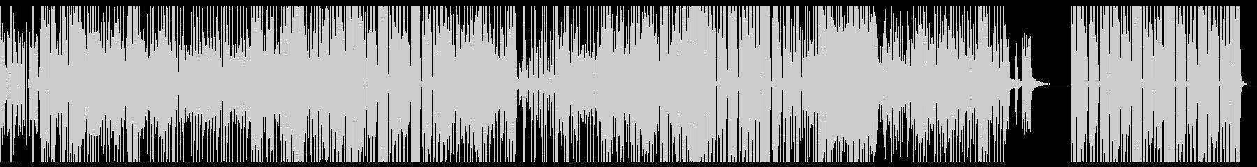 ファンキーで軽快なテクノポップの未再生の波形