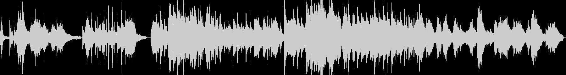 胡弓+ピアノの切なげな中華系の曲の未再生の波形
